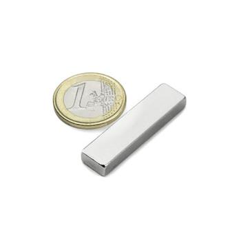 Power magnet, Blok 40x10x5 mm. Til whiteboard & glastavler.