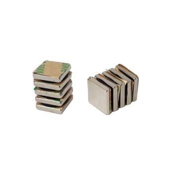 Stærke power magneter med lim (10 stk.).