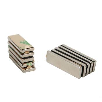 Stærke power magneter med lim (30x10x3 mm.)