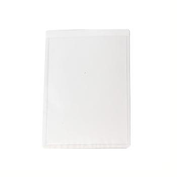 Magnetlomme 10x7,5 cm. A7 format hvid højformat