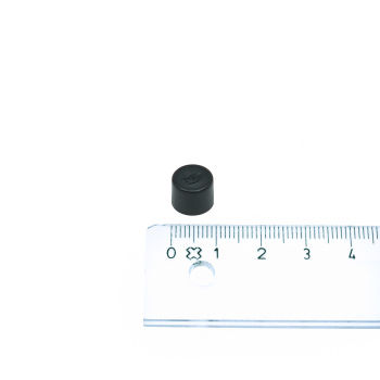 Legamaster 1810-01 sort magnet ø10 mm.