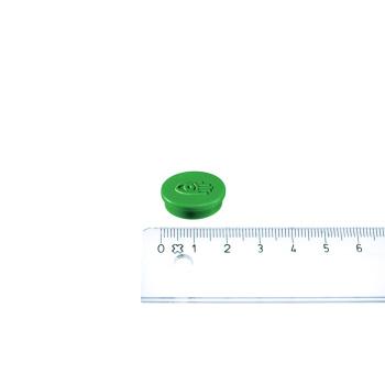 Lille grøn kontormagnet fra Legamaster ø20