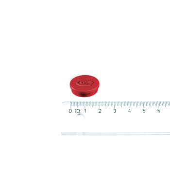 Lille rød kontormagnet fra Legamaster i ø20