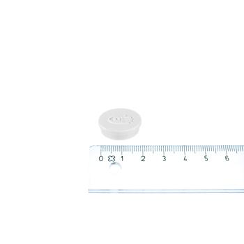 Lille hvid kontormagnet fra Legamaster i ø20