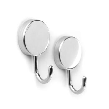 Sølv magnetiske kroge fra Trendform mrk. Steel MAMBA