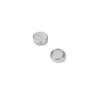 Plan pottemagnet 13 mm. af neodymium med metalpotte