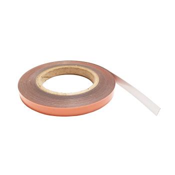Metalbånd på rulle, 12 mm. med selvklæb - køb fra 1 meter ad gangen