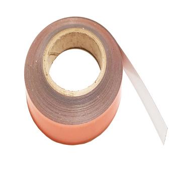 25 mm. metalbånd hvidt, sælges på ruller fra 1 meter