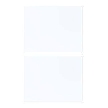 Hvidt magnetark i str. A5 (pakke med 2 stk.)