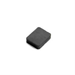 Ferrit magnet firkant str. 25x20x6 mm.