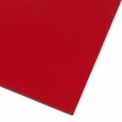 Rødt magnetisk folie A4