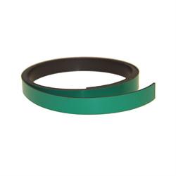 Grønt magnetbånd 10 mm. x 1 meter