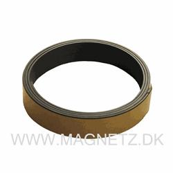 Magnetbånd m. selvklæb 25 mm. x 1 meter