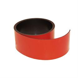 Rødt magnetbånd 40 mm. x 1 meter
