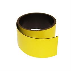 Gult magnetbånd 40 mm. x 1 meter