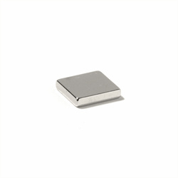 Neodymmagnet firkantet 10x10x4 mm., powermagnet