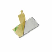 Powermagneter med lim 15x8x1 mm., 10-pak