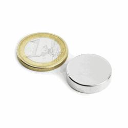 Power magnet disc 20x5 mm.