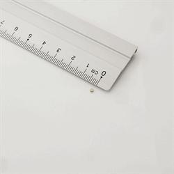 Powermagneter disc 2x1 mm. neodymium