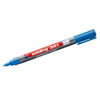 Blå Edding 361 board marker