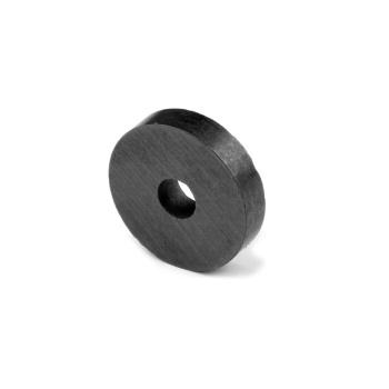 Ferrit ringmagnet 22x6x5 mm.