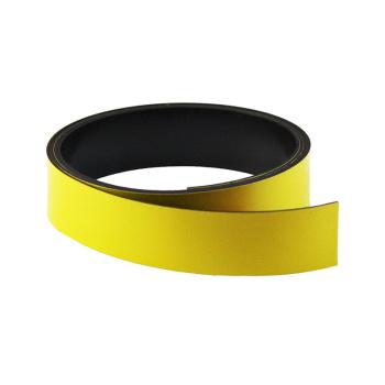 Gult magnetbånd 20 mm. x 1 meter