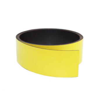 Gult magnetbånd 30 mm. x 1 meter