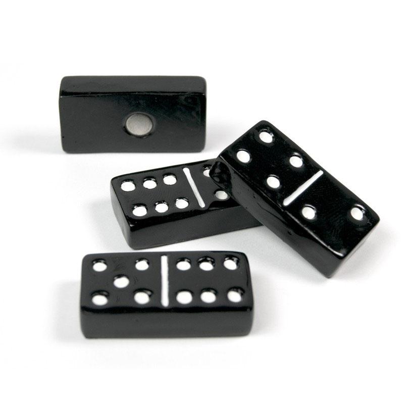 Billede af Domino Magneter, 4-pak - køleskabsmagneter