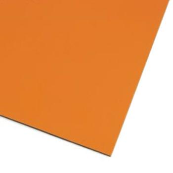 Orange magnetfolie A4 farvet magnetark