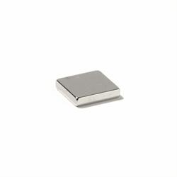 Powermagnet af neodymium 10x10x5 mm.