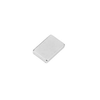 Powermagnet af neodymium 12x8x2 mm. firkantet