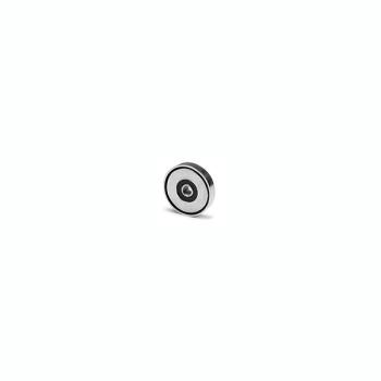 Pottemagnet ø10 mm. med indvendigt gevind