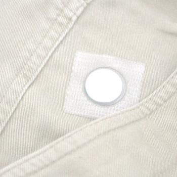 Neodymmagnet 12x2 mm. i firkantet PVC-lomme