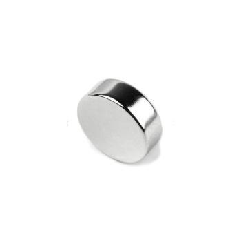 Powermagnet af neodymium 20x6 mm.