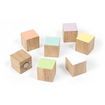 7-pak magneter fra Trendform mrk. Timber