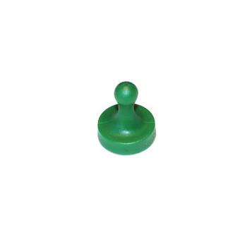Stor grøn ludomagnet styrke 2,5 kg.
