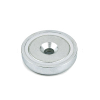 Undersænket pottemagnet ø48 mm. N42