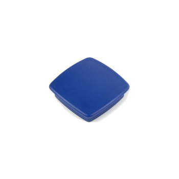 Blå firkantet kontormagnet Boston Xtra