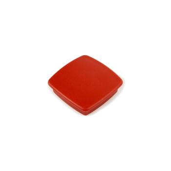 Rød kontormagnet firkantet Boston Xtra