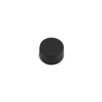 Gummimagnet str. 17x9 mm. (neodymium m. gummicoating)