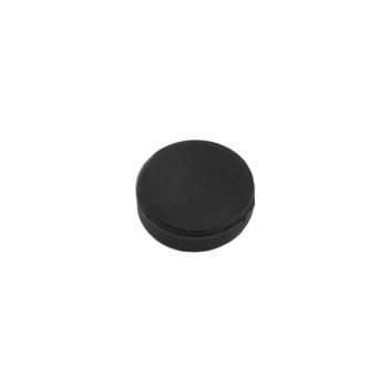 Gummimagnet skive str. 22x6 mm.