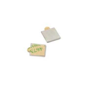 Firkantet magnet med lim 10x10x1 mm neodymium