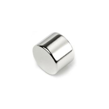 Powermagnet 20x15 mm. af forniklet neodymium