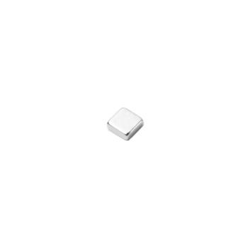 N45 neodymmagnet 5x5x2 mm. forniklet