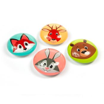 Funimal magneter er 3D magneter med skovens dyr fra Trendform