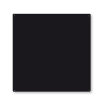 Trendform TZ4005 sort ståltavle med 10 powermagneter og skruer