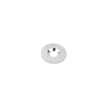 Magnetisk metal 18 mm. i diameter og M3 hul