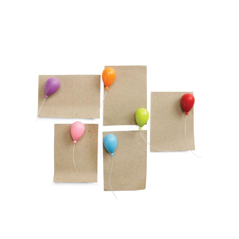 Billede af Ballon magneter 6-pak - køleskabsmagneter