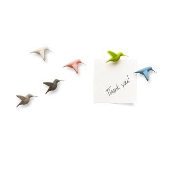 Humming Bird's Message - Kolibri magneter fra Qualy QL10102-PT
