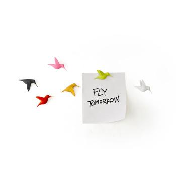 Humming Birds magneter er magnetiske kolibrier fra Qualy QL10102-MX
